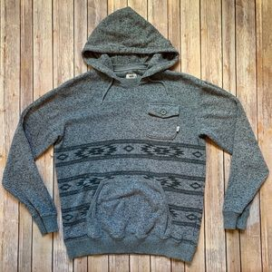 Vans hooded sweatshirt with front pockets hoodie